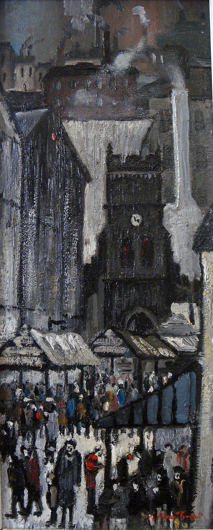 William Turner FRSA (b.1920) - 'The Market,