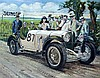 Attributed to Brian Lewis (20th Century)- 'Winner 1931 Brescia 1000 mile ro, Brian Lewis , Click for value