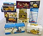 Eleven boxed diecast construction vehicles