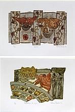 Valerie Thornton (British, 1931-1991) - 'Monasterio de Leyre' and 'Cartmel'
