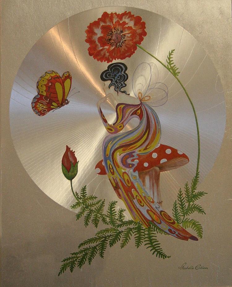 Michelle Emblem (20th century); fantasy study,