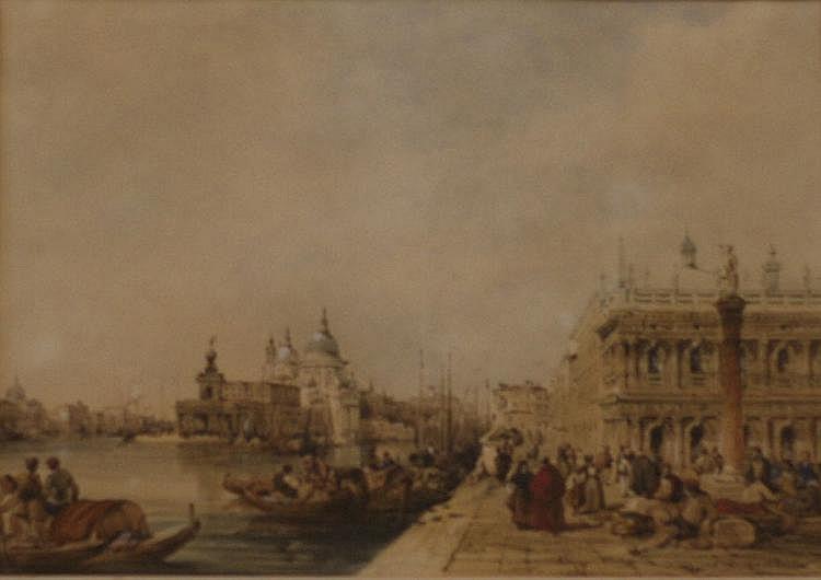 Edward Pritchett (1808-1894)-'Santa Maria della