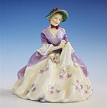 A Royal Doulton figurine 'Griselda', HN1993, by Leslie Harradine, circa 1950,