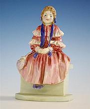 A Royal Doulton figurine 'Forget Me Knot', HN1813, by Leslie Harradine, circa 1940,