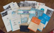 A large collection of London 1948 Olympic Games Modern Pentathlon official ephemera and memorabilia, assembled by Anne White,