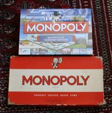 Guernsey Monopoly, sealed as new + vintage Monopoly (2)