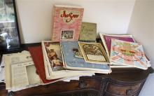 A collection of 1937 and 1953 Coronation ephemera including commemorative newspaper and magazine editions including the Guernsey Press,