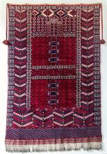 An Ardebil rug from Kershan Persia, 78 x 49in. (198 x 124.5cm.).
