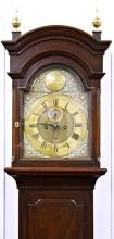 An 18th century Channel Islands longcase clock by Nicolas Blondel the eight day,