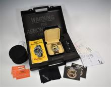 A Breitling Emergency chronograph stainless steel gentleman's bracelet watch c.2004, ref. E7632110/C549, serial no. 360982,