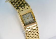 An 18ct yellow gold Girard Perregaux ladies manual wrist watch 1960s, the signed,