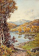 Arthur Suker (British, 1857-1902) 'The Llugwy, Capel Curig, N. Wales'