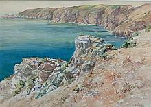 Arthur Bassett Waller (British, 1882-1974) The Hog's Back, Sark