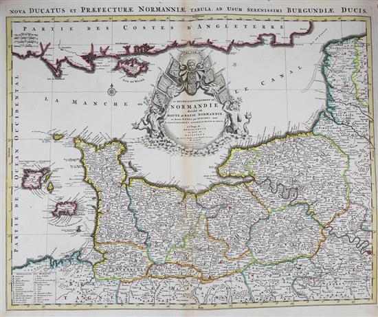 Pourquoi Chambre Haute Et Basse: Alexis-Hubert Jaillot (1632-1712) 'Le Duche Et Gouvernement