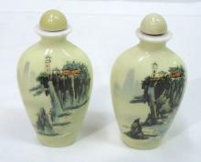 2 Oriental Snuff Bottles