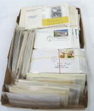 Huge Lot 1st Day of Issue Stamps Envelopes