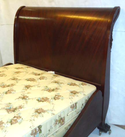 Stupendous Empire Swan Head Sleigh Bed Creativecarmelina Interior Chair Design Creativecarmelinacom