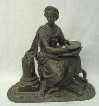 Spelter Statue
