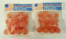 2 Pkgs Gladding-Vitro Marbles
