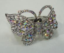 Rhinestone Costume Butterfly Bracelet
