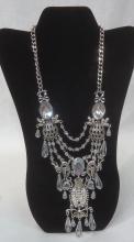Rhinestone Costume Necklace