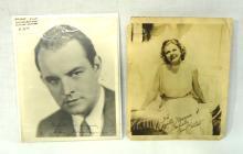 Jean Harlow & Sidney Blackmer Promo Photos