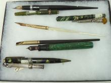 Lot of Vintage Fountain Pens Etc.