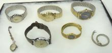 Lot of Wristwatches Inc. Accutron