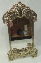 Brass Dresser Mirror