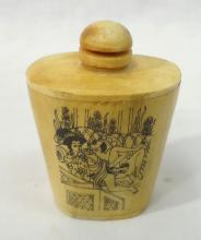 Oriental Erotic Snuff Bottle