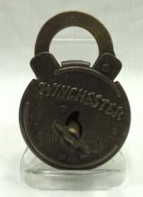 Modern Winchester 8 Lever Lock & Key