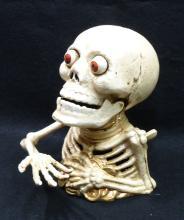 Modern C.I. Skeleton Mechanical Bank