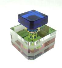 Multi Color Crystal Perfume Bottle