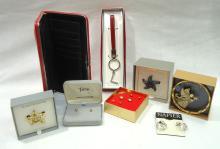 7pc Costume Jewelry Orig. Boxes