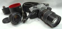 Pentax 35mm Camera, 2 Lens