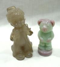 2 Boyd Glass Figures