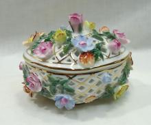 Modern Porcelain KPM Covered Dish