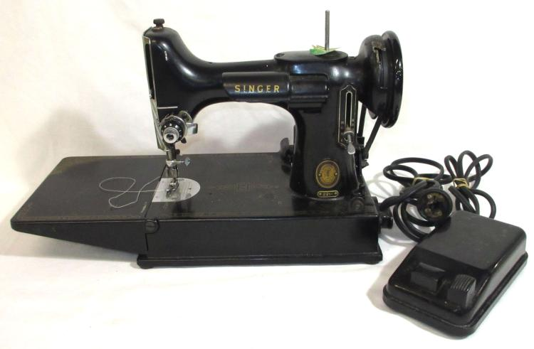 feather sewing machine