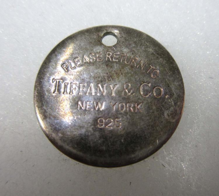 Sterling Tiffany Charm