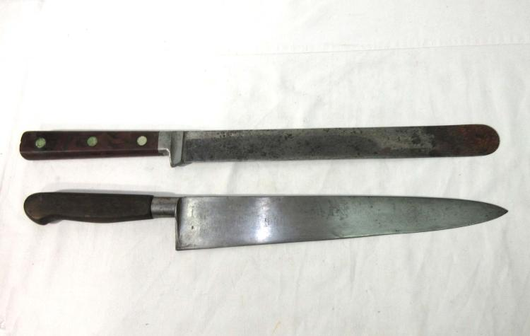 2 Early Chef's Knives