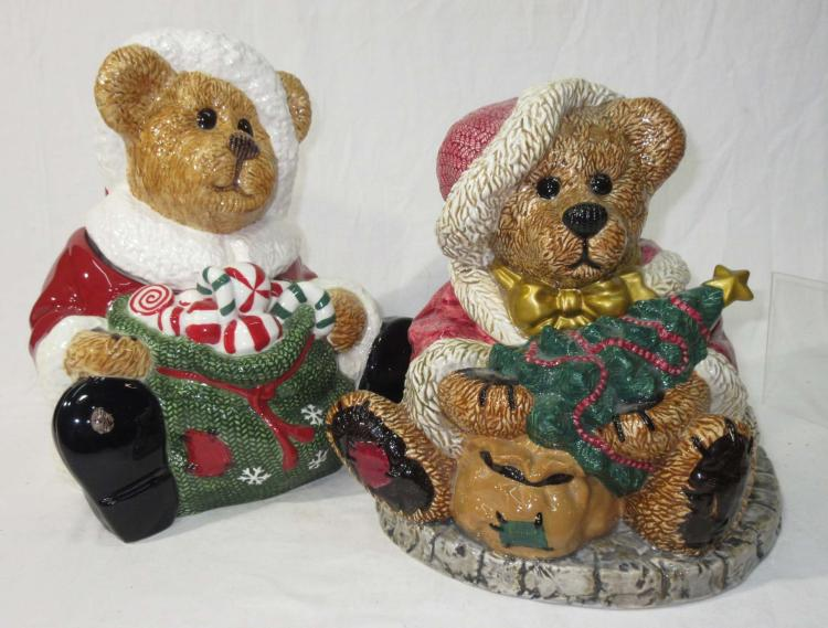 2pc Boyd Bear Cookie Jar