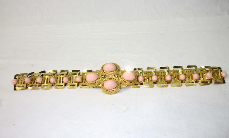 Goldtone Belt