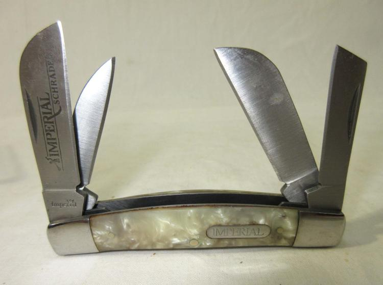 Schrade Imperial 4 Blade Pocket Knife