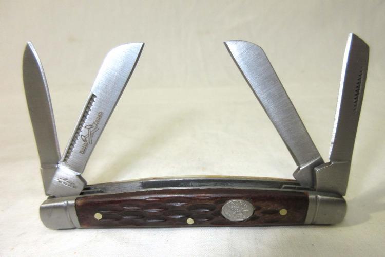 4 Blade Pocket Knife