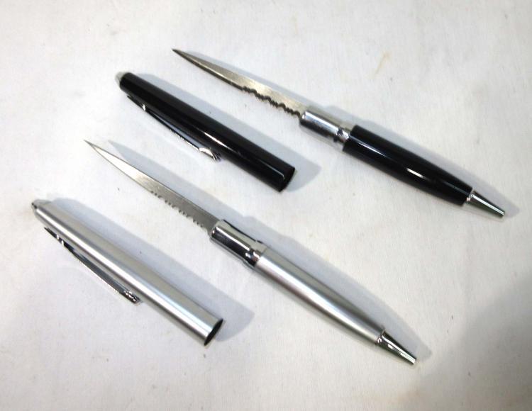 2 Pen Pocket Knives