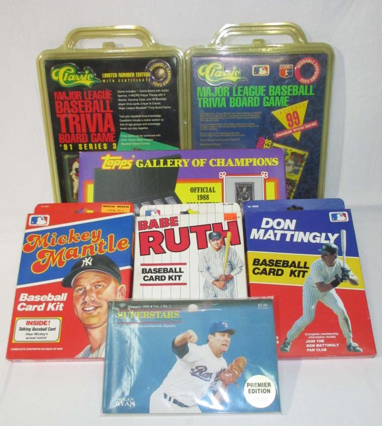 7 Baseball Starter Kits & Games