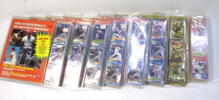 8 NIB Baseball Cards & Guides