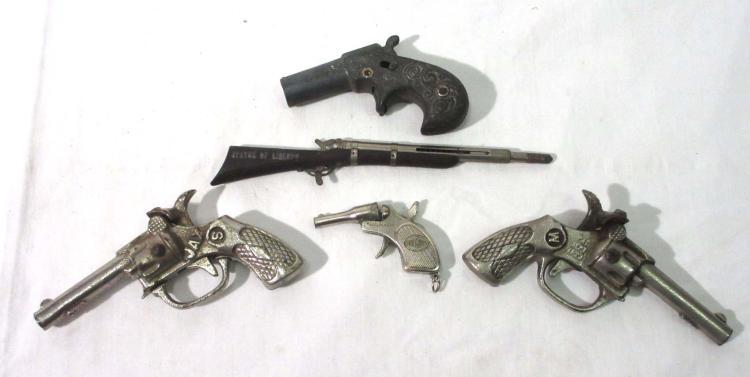 5 Early Cap Guns