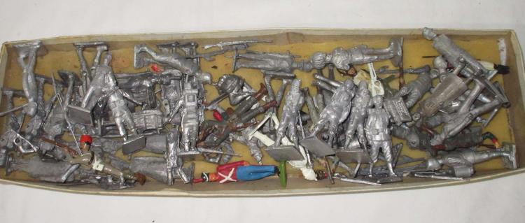 Large Lot of Lead Soldiers