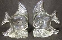 2 Heisey? Glass Fish